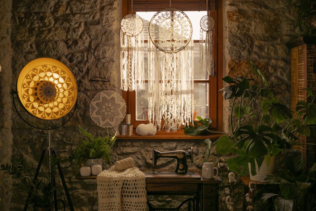 filtros dos sonhos na decoração vintage de casa